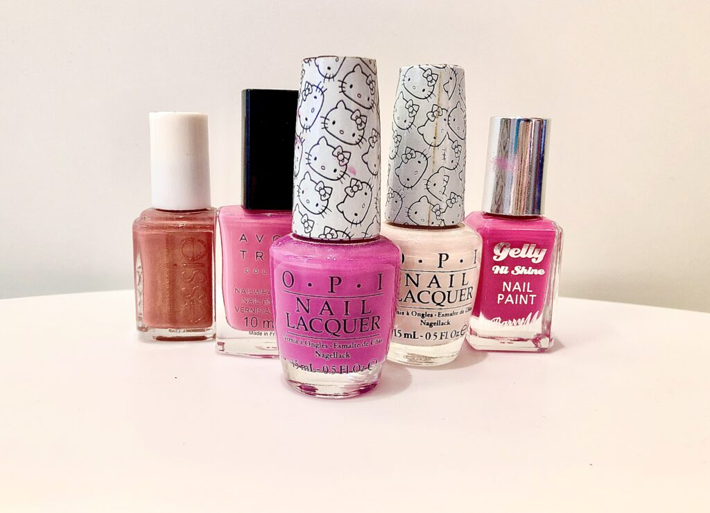 Pretty In Pink My All Time Favourite Shades Of Pink Nail Polish Rebecca Louise Blogs